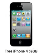 free iphone 4 32gb